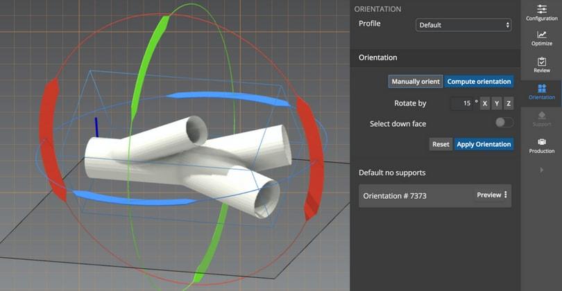 3D Part Orientation