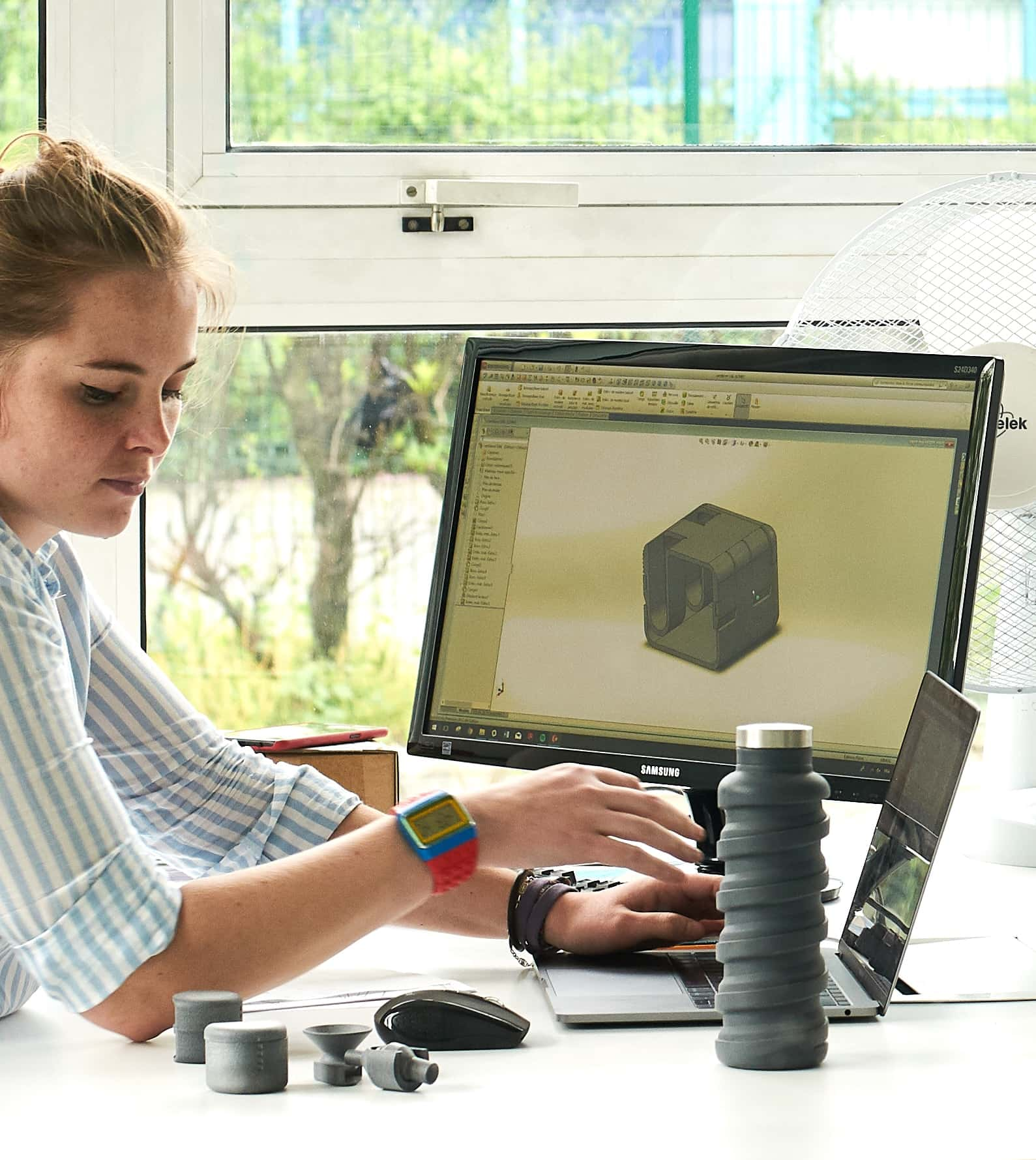 3D Printing Education Student